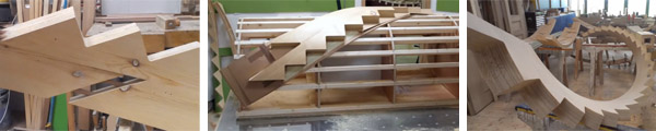 Изготовление на заказ деревянных лестниц в Хабаровске, Владивостоке и Москве.