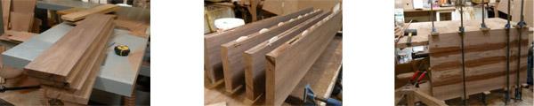 изготовление журнального резного столика из дерева на заказ своими руками