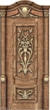 Деревянная резная дверь DVR_0007